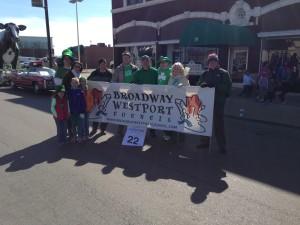 St Pat parade 2014